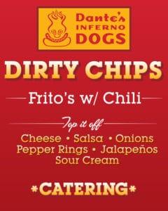 Dirty chips menu