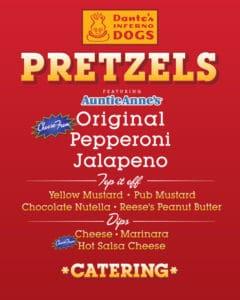 Pretzel menu